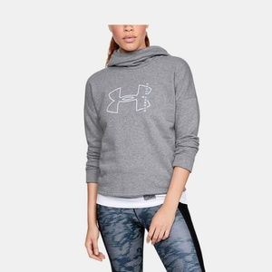 Under Armour Cotton Big Logo Hoodie Sweatshirt